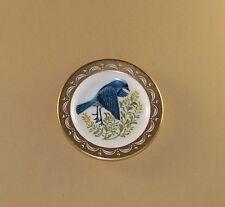 State Birds and Flowers Miniature Plate Nevada Mountain Bluebird Sagebrush