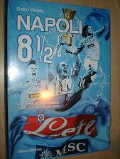 MAXI BOOK SSC NAPOLI 8 1/2  IL FILM DEGLI 85 ANNI D´AMORE HISTORY + DVD + POSTER