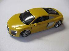 1:24 SCALE WELLY AUDI R8 V10 DIECAST CAR MODEL W/O BOX