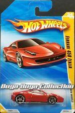 Hot Wheels 2010 New Models Red Ferrari 458 Italia