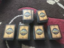 LARGE AMOUNT OF WORLD OF WARCRAFT TRADING CARD GAME - Hundreds - Good Condition