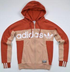 Adidas Trefoil Hoodie Tt Ladies Hooded Jumper Jacket Sweatshirt Hoody Logo Eqt