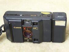CANON MC   35mm fast 2.8 f2.8 lens retro street COMPACT FILM CAMERA + flash