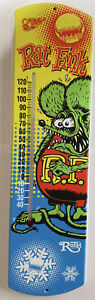 COOL BEANS BLOWOUT: Rare, Hard to Find ROTH RAT FINK Wall Thermometer Box 03-02