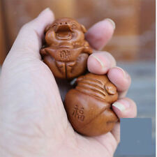 1Pair Wooden Chinese Health Exercise Stress Relaxation Therapy Baoding Ball