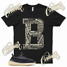 Black BE BLESSED Sneaker T Shirt match Yeezy 350 Carbon Asriel Azareth Israfil