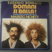 Eugenio Bennato ‎– Domani Si Balla 45 Giri  1982 Soundtrack  Record NM