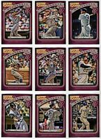 2012 Topps Gypsy Queen Moonshots Insert You Pick the Player Finish Your Set