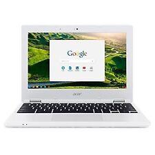 """Acer Cb3-131-c8d2 11.6"""" Chromebook Intel 2gb RAM 16gb Chrome OS Denim White"""