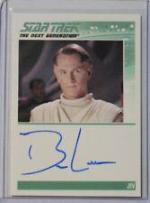 2012 Star Trek The Complete Next Generation Series 2 Autograph Ben Lemon