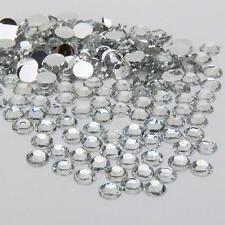2000Pcs Crystal Flat Back Resin Rhinestones Gems 60 colors, 2mm, 3mm, 4mm, 5mm