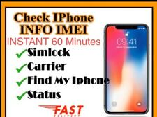 iPHONE &iPad Info (Lock/unlock,Network,icloud Status,clean/Barred)check Service✅