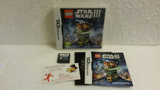 Jeu Vidéo Lego Star Wars III The Clone Wars DS LITE DSI XL 3DS Complet 3 Disney