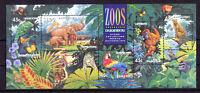 Australien Block 17 postfrisch Motiv Zoo / Gefährdete Tiere 1428 - 1432 MNH