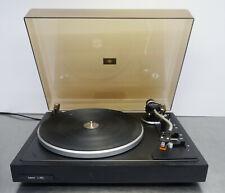 hifi stereo record player Lenco L435 manual turntable Plattenspieler Swiss made