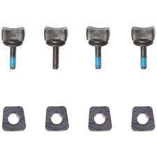 HYPERLITE M6 Thumb Screw Wakeboard Bindings Hardware Kit - 4 Screws & 4 Clamps