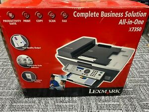 Lexmark All in one X7350 Complete Business Solution