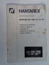 Hantarex MTC 9000 Monitor   Arcade  Game Owners Operation Manual