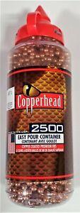 Copperhead by Crosman 2500 ct. 4.5mm Steel Copper Coated Airgun BB's
