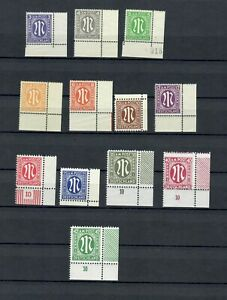 GERMANY  EUROPE AM POST COLLECTION OF  MNH STAMPS LOT (GER 74)