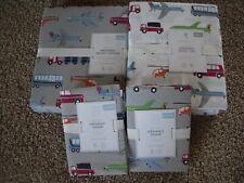 POTTERY BARN KIDS Brody Full/Queen Duvet 2 Shams & FULL Brody Sheets Set NEW
