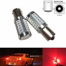 BACKUP 1156 BA15S 33SMD LED PROJECTOR LENS RED BULB REVERSE LIGHT FOR VW