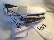 DOLCE & GABBANA D&G 5010 EYEGLASSES TORTOISE & SILVER NEW!!