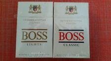 Sigarette da Collezione Slovenia: Boss. 2 pacchetti Nuove sigillate. Cigarettes