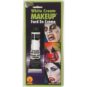 White Cream Makeup Halloween Costumes and Accessories