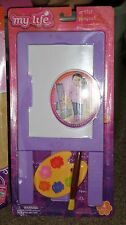 """My Life as Artist Playset Accessories American Girl & Other 18"""" Doll Sz Easel +"""
