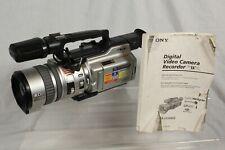 Sony Digital Handycam DCR-VX2000E Professional Camcorder Video Camera