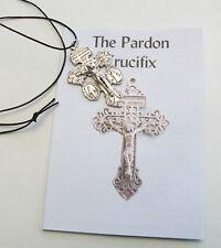 Pardon Crucifix with Leaflet