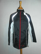 20 24/2 TCM Body Style Damen Outdoor Jacke Gr. 36 38 grau schwarz pink Fleece