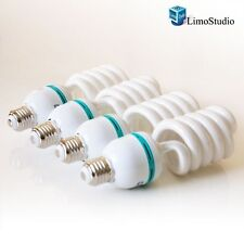 LimoStudio Full Spectrum Light Bulb- Four 45W Photography Photo CFL 6500K - D...