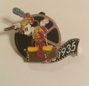 DISNEY DLRP MICKEY MOUSE THE BAND LEADER 90TH ANNIVERSARY SURPRISE PIN ON PIN