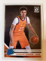 Cameron Johnson #200 2019 Panini Donruss Optic Rated Rookie RC Card