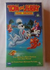 TOM & JERRY - THE MOVIE [VHS Video]