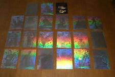 1995 FLEER ULTRA BATMAN  FOREVER INSERT HOLOGRAM CARDS - YOUR CHOICE $2