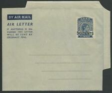 ADEN GVI 50 CENTS on 6a airletter fine unused..............................52088