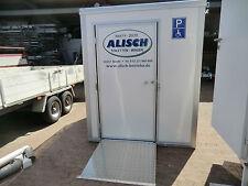 Vermietung von Behinderten Toilettenwagen - Handicap WC - Toiletten Container