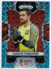 2018 PANINI PRIZM WORLD CUP LUKASZ FABIANSKI #153 LIGHT BLUE LAZER /125 POLAND