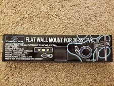 "Cheetah Mounts APFMSB Flush 1"" From Wall Flat Screen TV Wall Mount Bracket for."