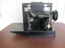 VINTAGE SINGER FEATHERWEIGHT MODEL 221-1 IN CASE-AS IS