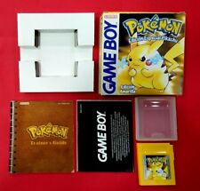 Pokemon Edicion Amarilla – NINTENDO - GAME BOY - USADO - BUEN ESTADO