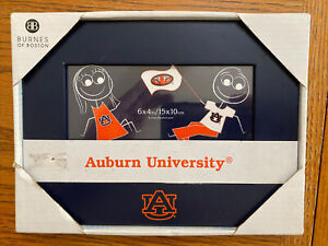 "Burnes Of Boston 6"" X 4"" Auburn University Picture Frame- New In Box"