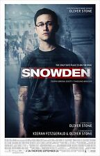 Snowden Movie Poster (24x36) - Joseph Gordon-Levitt, Shailene Woodley, Eastwood