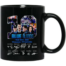 Blue Bloods 19 Year 2010-2020 10 Season Signed Thank For The Memories Coffee Mug
