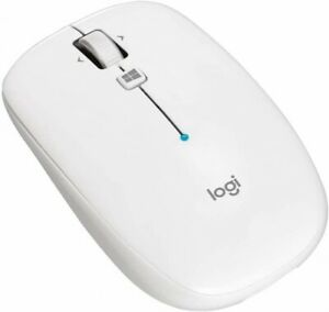 Logitech Wireless Bluetooth Mouse LOGICOOL Gray White Red Thin type 6 Buttons