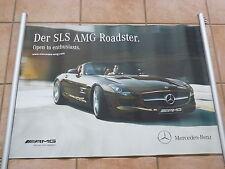 Mercedes-Benz SLS AMG Roadster V8 571 PS - POSTER 83 x 59 cm Plakat