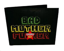 "The Original BMF Leather Wallet ""RASTA"" Version"